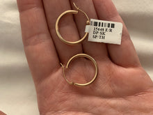 Load image into Gallery viewer, Rose Gold 2MM Hoops