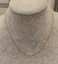Load image into Gallery viewer, Gold Flat Chain Necklace