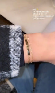 Yellow Gold Name Bracelet