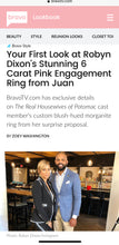 Load image into Gallery viewer, Double Diamond Halo With Pink Morganite Center