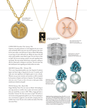 Load image into Gallery viewer, Diamond Astrology Sign Pendants