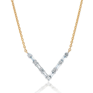 Diamond V Pendant