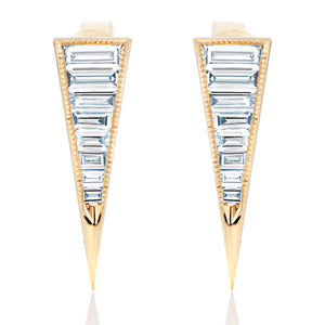 Diamond Dagger Earrings
