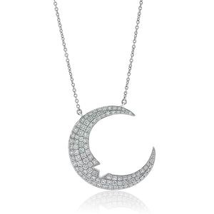 Diamond Crescent Moon