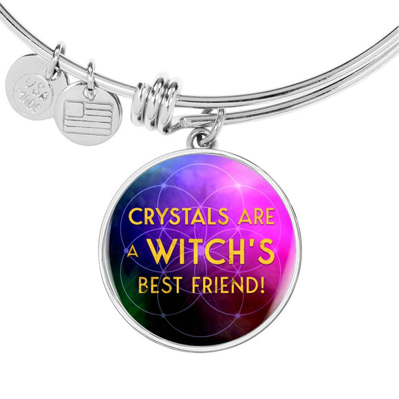 Crystals Are A Witch's Best Friend - Luxury Bangle