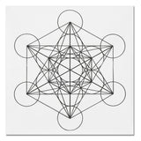 Crystal Grid Cloth Sacred Geometry