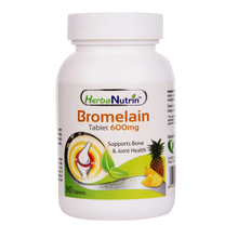 Load image into Gallery viewer, Herbanutrin - Bromelain 600mg Joint Pain Relief Supplements - Herbanutrin