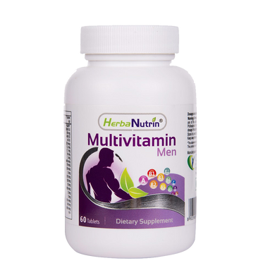 Herbanutrin Multivitamin for Men - Supports immune system, - Herbanutrin