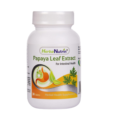 Herbanutrin Papaya Leaf Extract - Herbal Dengue Remedy - Herbanutrin