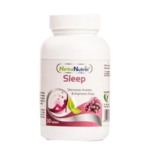 Load image into Gallery viewer, Herbanutrin Sleep - Herbal Supplements For Insomnia - 30 Tablets - Herbanutrin