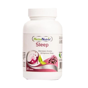 Herbanutrin Sleep - Herbal Supplements For Insomnia - 30 Tablets - Herbanutrin