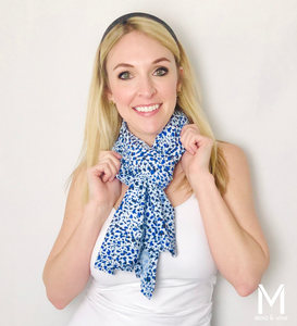 Cheeky Cheetah Magnetic Closure Scarf