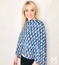 Load image into Gallery viewer, Eye-catching Ikat Scarf