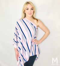 Load image into Gallery viewer, Savvy Stripe Scarf