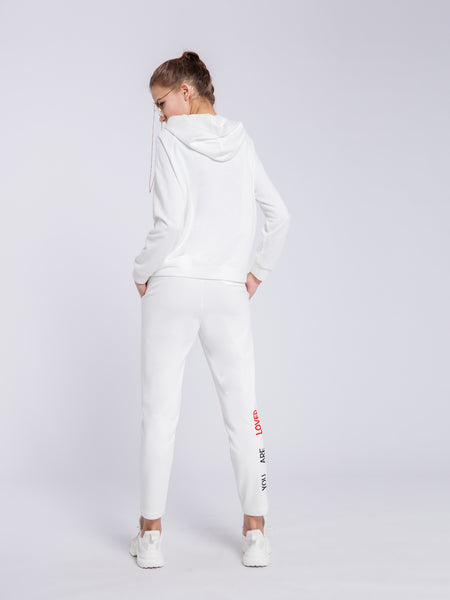 White Hooded Jacket