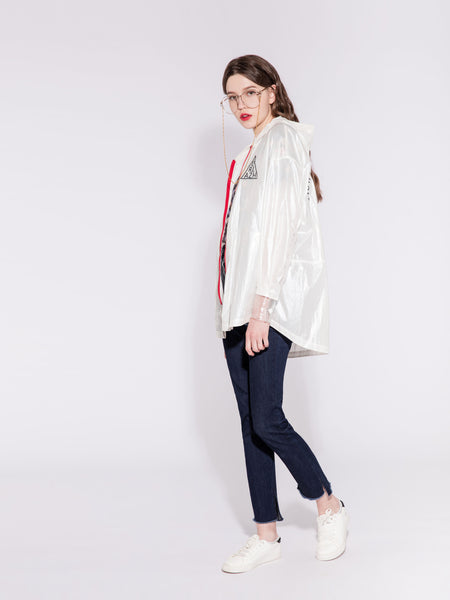 Shimmering White Jacket