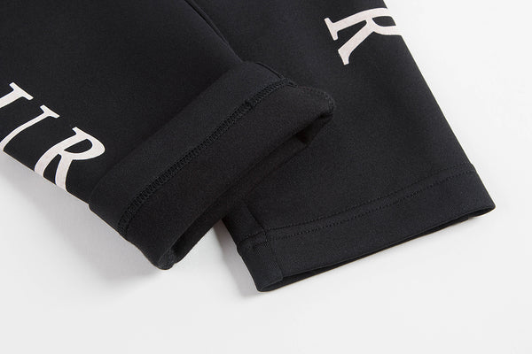 "Black ""Amour"" Logo Pants"