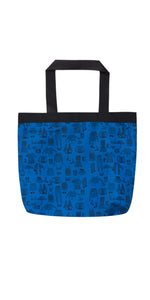 Blue Joy Eco Friendly Tote Bag