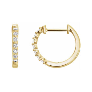 733-002- Hoop Earrings