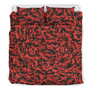 Red Tiger Camo Bedding Sets