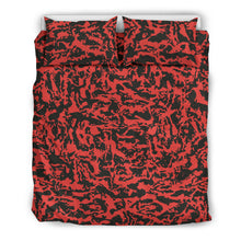 Load image into Gallery viewer, Red Tiger Camo Bedding Sets