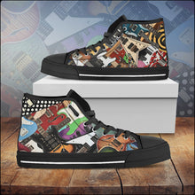 Load image into Gallery viewer, Men's Guitar Legends Hi-Top Shoes