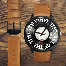 "Load image into Gallery viewer, Custom 'Vinyl Time"" Watches"