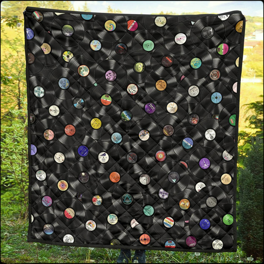 Pure Vinyl Collage Quilts (Free Priority Shipping Upgrade For Select Sizes!)