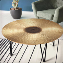 Load image into Gallery viewer, Ride Cymbal Print Coffee Tables
