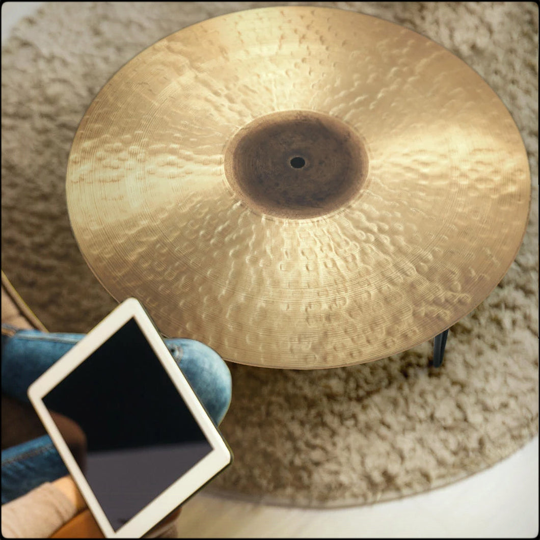 Ride Cymbal Print Coffee Tables