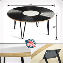 Load image into Gallery viewer, Ultimate Vinyl Record Coffee Tables (FREE U.S. SHIPPING!)