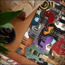 Load image into Gallery viewer, Guitar Legends Area Rugs