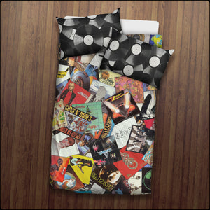 Ultimate Record Collage Bedding Sets