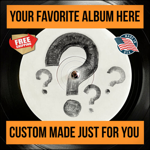 Customized LP Record Coffee Tables (FREE U.S. SHIPPING!)