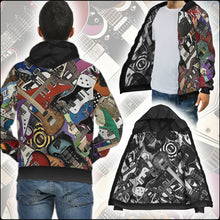 Load image into Gallery viewer, Guitar Legends Double-Printed Zip Hoodies