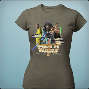 """Meth Wars"" Breaking Bad Parody Shirts (USA Bella Canvas)"