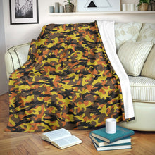 Load image into Gallery viewer, Fall Camo Microfiber Blankets