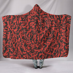 Red Tiger Premium-Soft Hooded Blankets