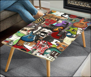 Guitar Legends Birch Coffee Tables (FREE USA SHIPPING!)