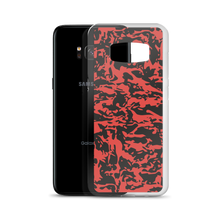 Load image into Gallery viewer, Red Tiger Camo Samsung Cases