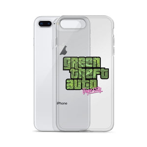 Green Theft Auto iPhone Cases (All Models)