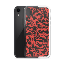 Load image into Gallery viewer, Red Tiger Camo iPhone Cases