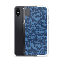 Load image into Gallery viewer, Blue Tiger Camo Iphone Cases