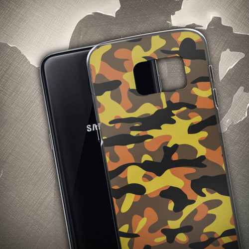 Fall Camo Samsung Cases