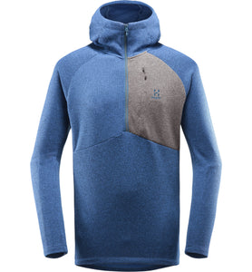Nimble Hooded Top Men - Tarn blue