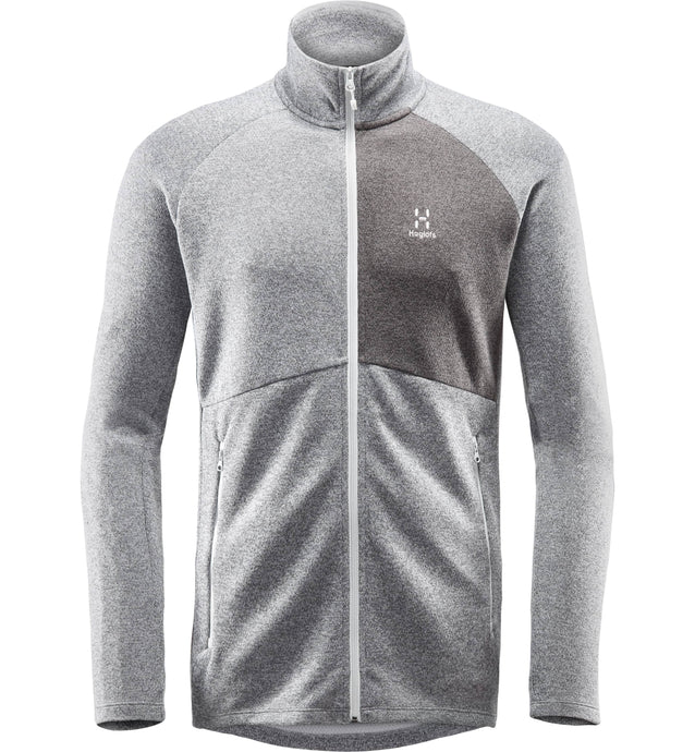 Pánska mikina Nimble Jacket Men - Grey melange