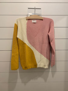 Aymara Anne Color Blocked Sweater