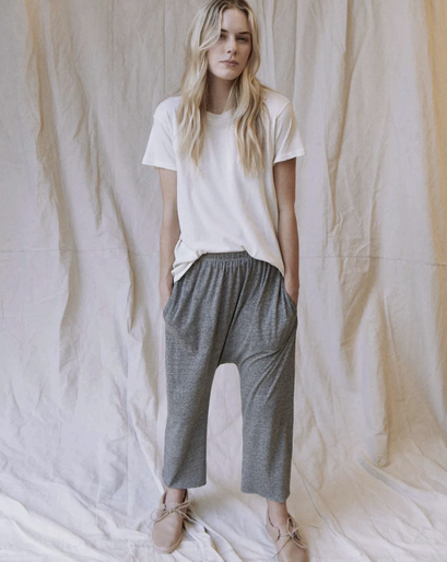 The Great Jersey Crop Pant