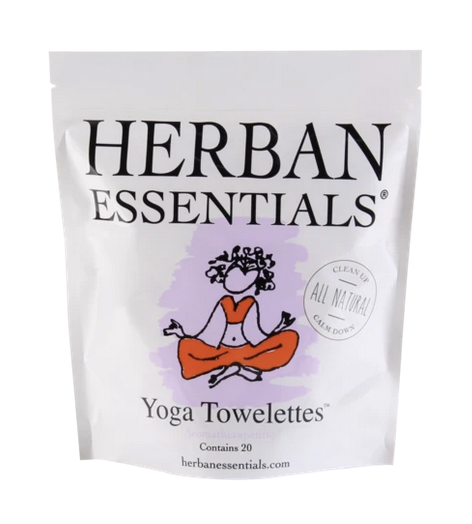 Herban Towelettes- 20 pack Yoga