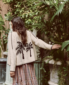 The Great Palm Lodge Cardigan